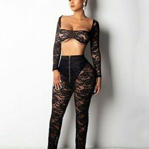 2 piece pants set